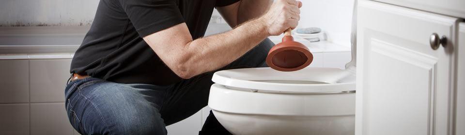 Toilet ontstoppen met plopper